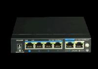 UTP3-GSW04-TPD60 * Switch ethernet gigabit POE+, 4+2 porturi, alimentat POE