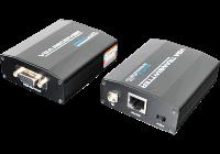 UTP801P * Extender VGA pasiv 75m