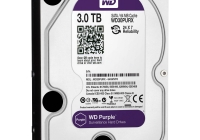 WD PURPLE 3TB - SPECIAL optimizat pentru DVR-uri si NVR-uri