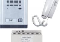 WL-06Dd2D * Set interfon audio pentru vila