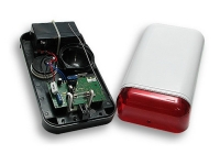 WSS * Sirena de exterior wireless ELMES cu sursa si acumulator de 1.2Ah