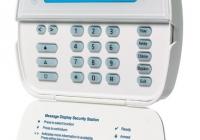 WT 5500P * Tastatura wireless LCD pentru centrale ALEXOR si IMPASSA, cu cititor proximitate incorporat