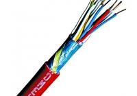 XC140201-- * Cablu de semnalizare incendiu, JB-Y(ST)Y 1x2x0,8 BMK roşu