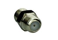 XC1600702 * Cuplă prelungire cablu coax. cu mufe F-Mamă la F-Mamă, drept