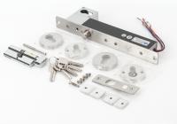 YB-630B(LED) * Bolt electric cu actionare electromagnetica, temporizare, monitorizare si cilindru cu cheie
