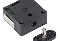 YE-301-S * Incuietoare electrica aplicabila, cu bolt, pentru vestiare, dulapuri