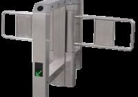 "YK-PB106D * Poarta batanta automata dubla tip ""BRIDGE"" pentru acces persoane, din INOX"