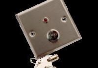 YKS-850LS * Buton incastrabil din inox, cu cheie