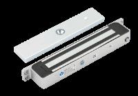 YM-280H(LED) * Electromagnet de 280 kg forta cu LED, senzor NO/NC, waterproof IP68