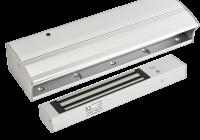 YM-280T(LED)H-B * Electromagnet aplicabil de 280 kg forta, cu led de stare, monitorizare si temporizare pentru usi glisante
