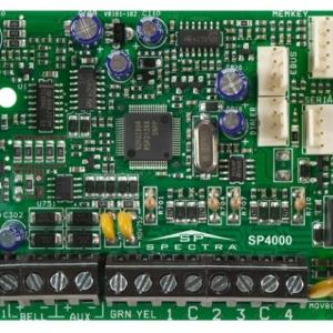 SP4000 * Centrala alarma conventionala [4 zone, 8 in ATZ, max 32 / 2 partitii / 32 utilizatori]
