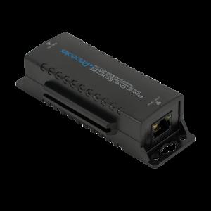 UTP3-VER01-POE * Repetor ethernet si POE 10/100 Mbps pentru retele de cupru 10/100Mbps